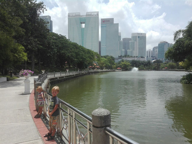 Botanischer Garten, Kuala Lumpur, Malaysia, See