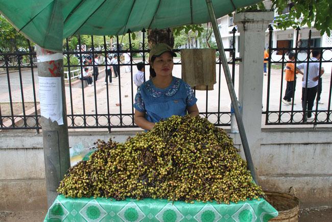 Marktstand Luang Prabang
