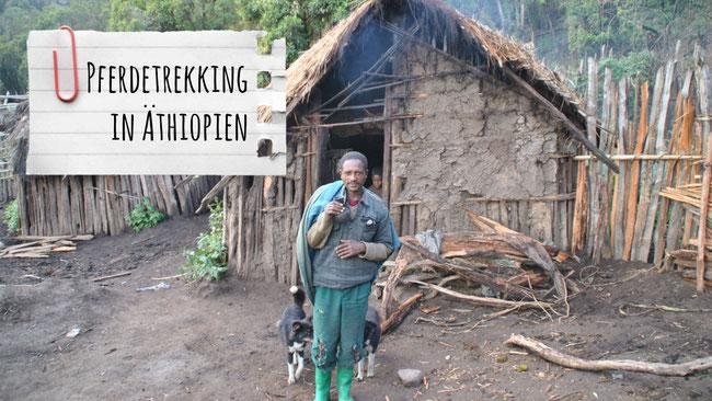 Äthiopien, Afrika, Pferdetrekking, Bale Mountains, Franzls On Tour, franzlsontour, Lehmhütte