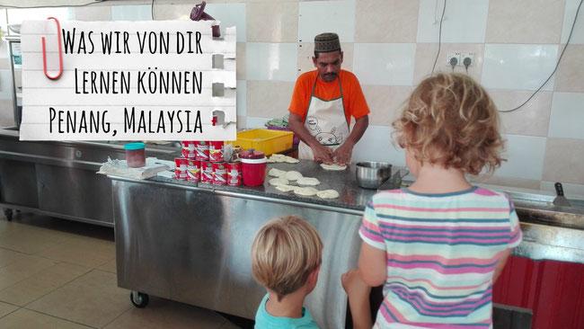 Penang, Malaysia, Roti Canai, Inder, Indisch, Kulturen, Mix, Hindu, Franzls On Tour, franzlsontour
