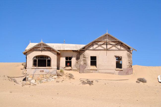 Kolmannskuppe, Kolmanskop, Namibia, Geisterstadt, Wüste, Diamanten