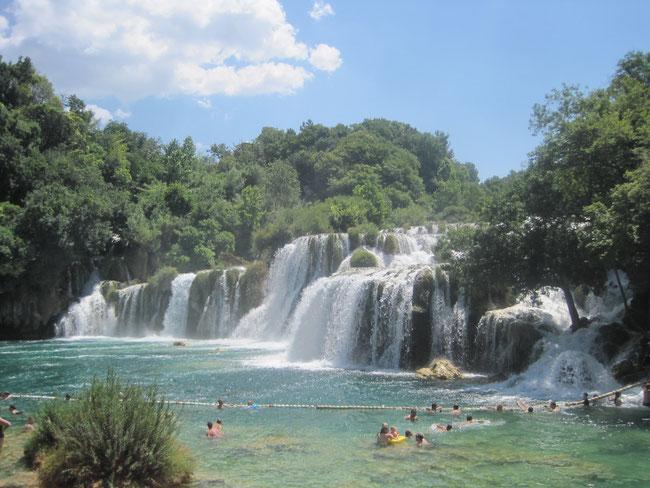 Krka Nationalpark - Gästehaus Melli in Vodice