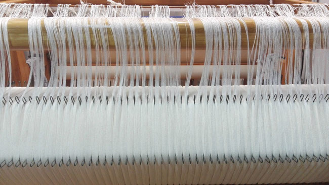 at weaving studio KLEE we use different systems of warping