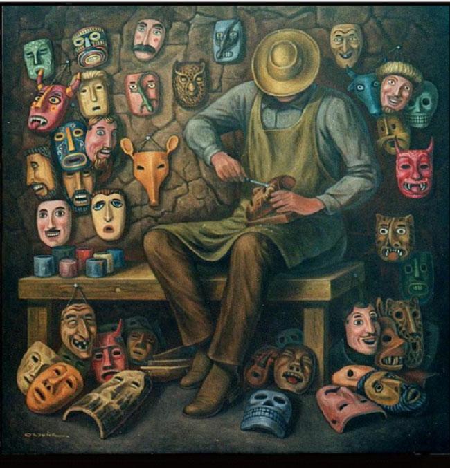 Hacedor de máscaras, Carlos Orduña