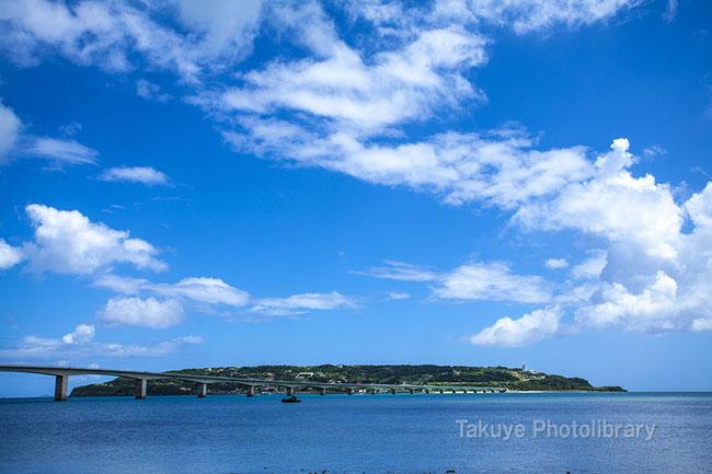 古宇利島 古宇利大橋 沖縄の風景