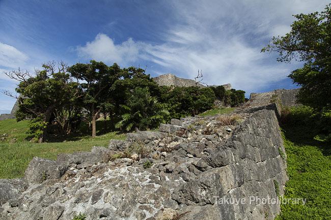 勝連城跡 世界遺産 沖縄の風景