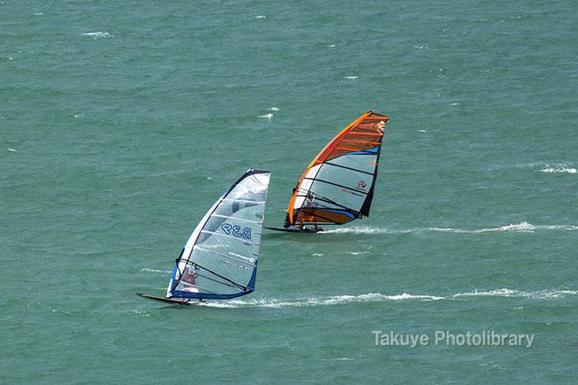 ウインドサーフィン 沖縄写真