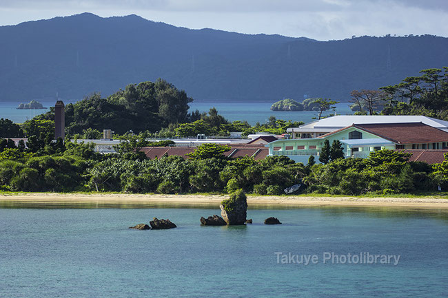 屋我地島 沖縄の風景写真