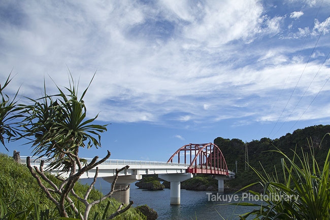 伊計島 伊計大橋 いちはなり 沖縄の風景