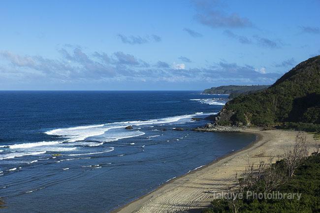 沖縄の風景 辺戸岬 宇佐浜の海岸