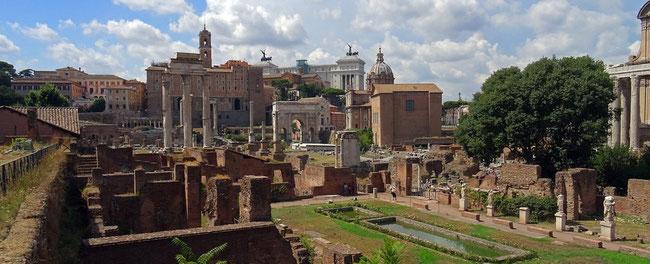 forum antique à Rome pour forum internet par e-cime.fr création de site web pour TPE