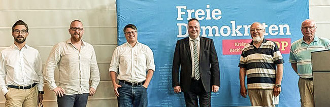 Kresiparteitag der FDP RE zur Kommunalwahl 2020 (27.06.2020)