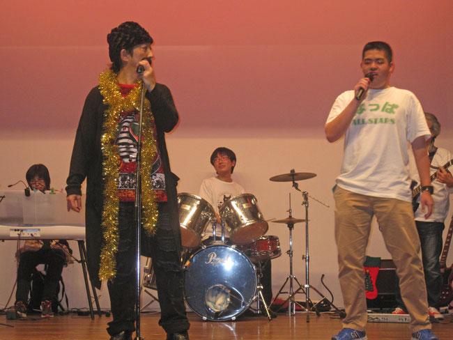 ウドさんと寛平さんも橘高先生のいじりに立派に対応 「あ~私の恋は~♪」上手でした!