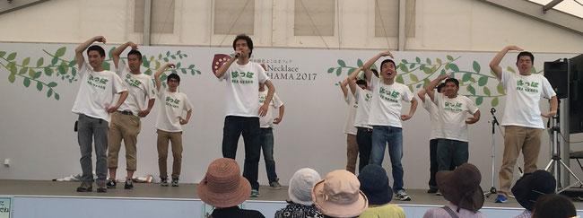 ASAHIKUへの愛をこめて踊りました!「キュンとさせるこのまちで 」お客さんの反応も良好!