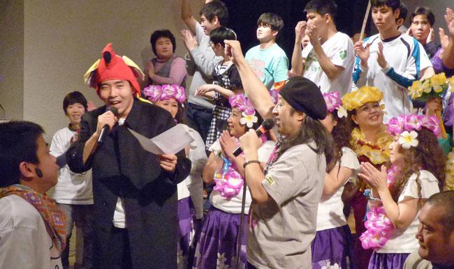 8×8≠0ステージ最高潮 会場の人たちも一緒に#0オリジナルソング「ひまわり」を歌い、踊った!