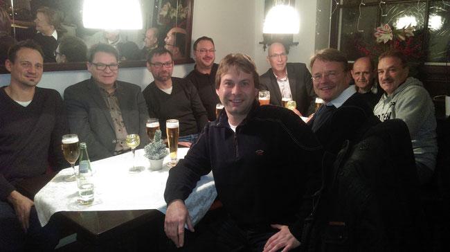 Stammtisch der Hertener Freien Demokraten im Le Petit Café in Herten