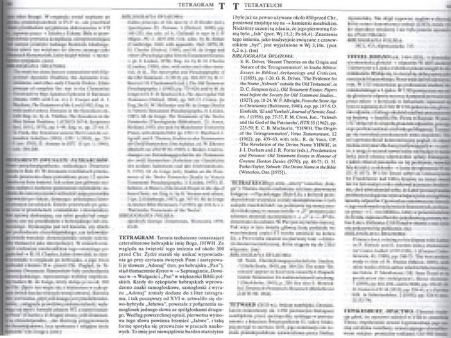 Encyklopedia Kościoła, Prymasowska Seria Biblijna, Oficyna Wydawnicza VOCATIO, tom II, Warszawa 2004, strony 985-986