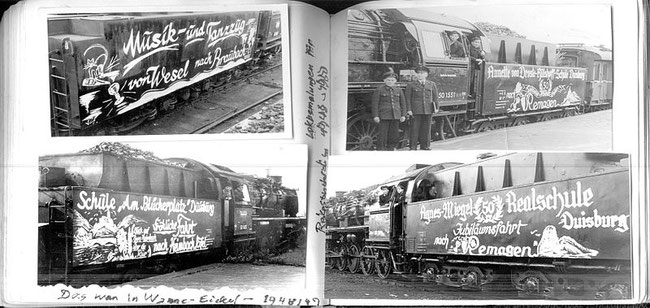 bemalte Sonderreisezüge der Deutschen Reichsbahn