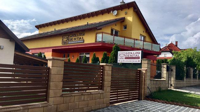 Стоматологическая клиника в курортном городке Воньярцвашхедь