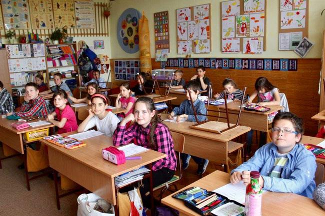 Ты сними, сними меня фотограф! Ученики школы им. Ласло Чань (Iskola László Csány)