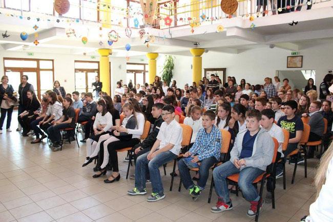 Праздник в школе им. Ласло Чань (Iskola László Csány)