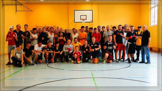 Training mit holländischen und deutschen Boxern September 2016