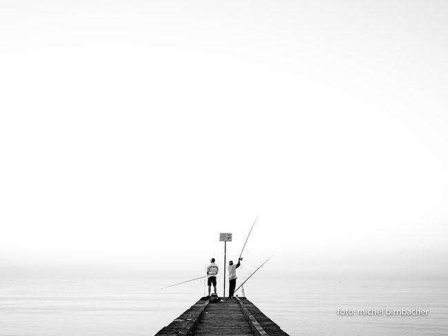 Fischer am Meer, Leica M Monochrom (Typ 246), 35mm