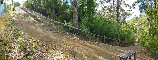 The 120-step climb