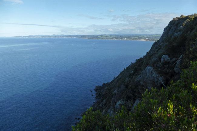 Looking east, towards Burnie