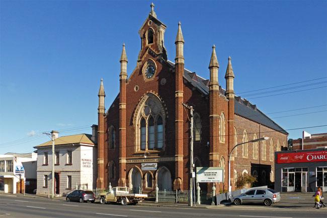 Baptist church, Launceston