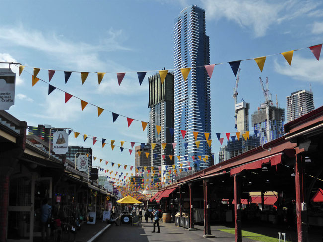 Queen Victoria Markets on the edge of the CBD