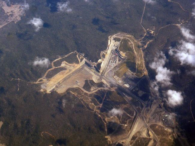 The pit at Ulan coal mine, near Dubbo