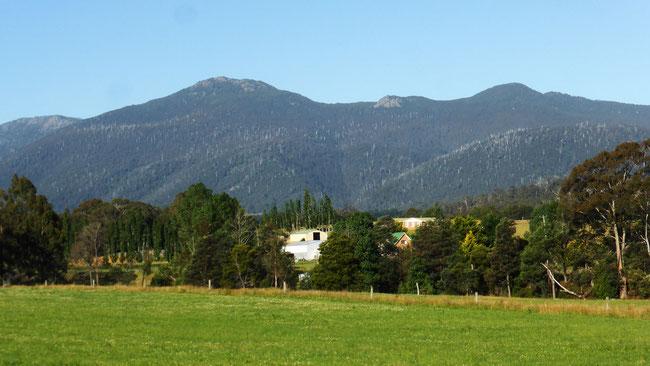 Mountains around Mountain River