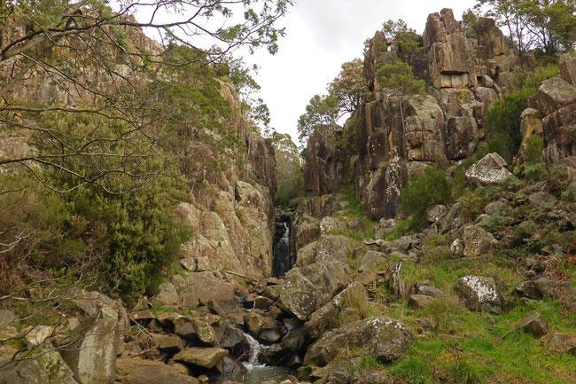 Punchbowl Falls gorge