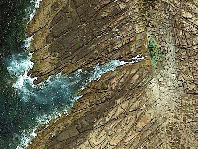 Google Earth view of Injidup Natural Spa