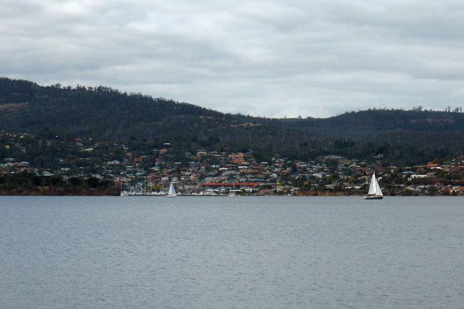 Across the river – Rose Bay