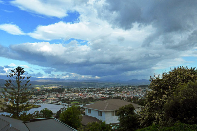 Cloudscape over Launceston