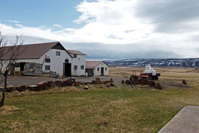 Geirshlíð farm buildings