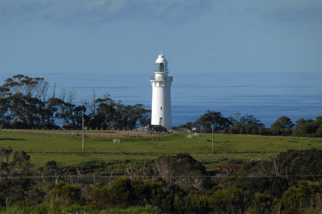 Table Cape lighthouse and Bass Strait