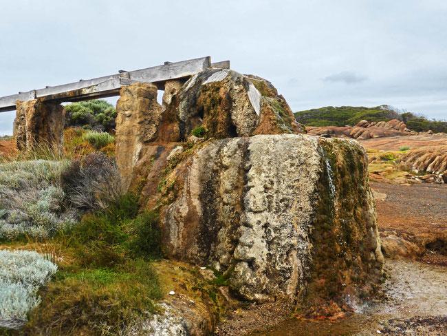 Cape Leeuwin Lighthouse water wheel