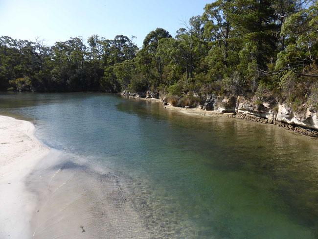 Snug River estuary