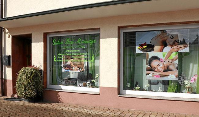Sabay Thaimassage Studio in Binzen. Nahe Lörrach, Weil am Rhein Haltingen und Basel