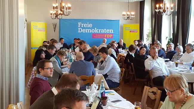 Kreisparteitag der Freien Demokraten im Kolpinghaus Recklinghausen