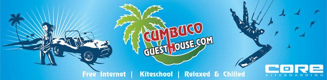 Hotel Pousada & Kiteschool The Cumbuco Guesthouse in Brazil !
