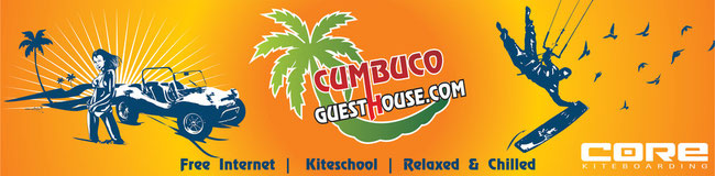 Hotel Pousada & Kiteschool The Cumbuco Guesthouse in Brazil !