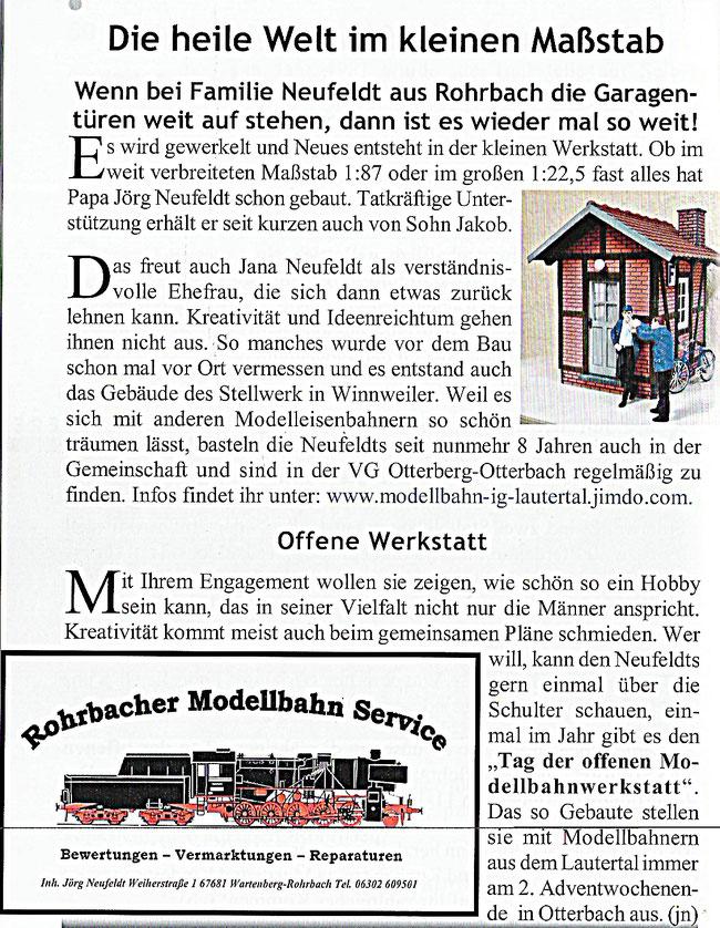 """Quelle: """"Das Ortsblättchen"""" Ausgabe 2017"""