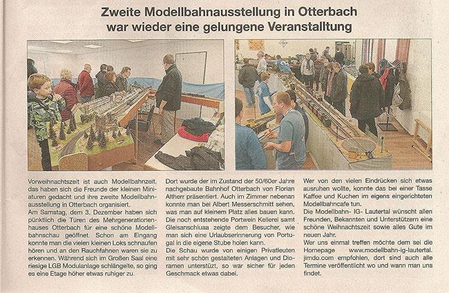 """Quelle: """"Stadt- und Landkurier"""" Ausgabe 50/2016"""