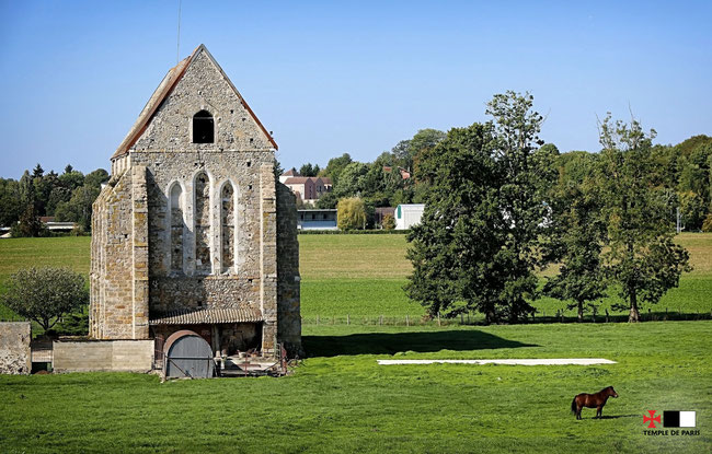 La chapelle de la Ferté-Gaucher © Temple de Paris – Photographie de David Deschamps