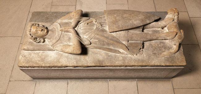Gisant de Jehan II d'Alluye. © The Metropolitan Museum of Art