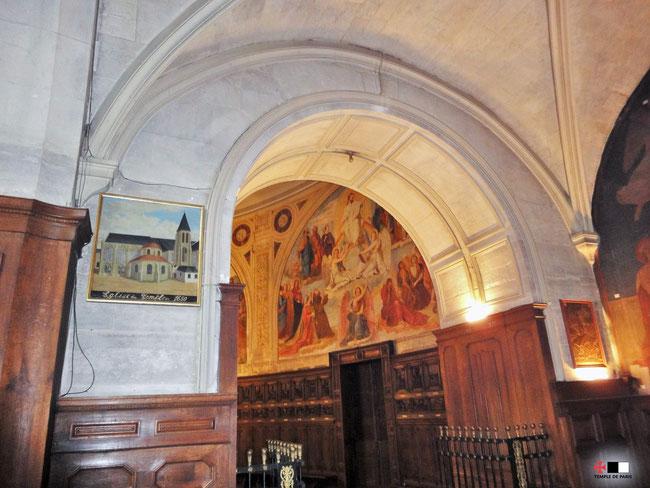 La porte d entr e de l enclos du temple de paris l 39 glise sainte marie du temple maison des - Maison de la hongrie paris ...